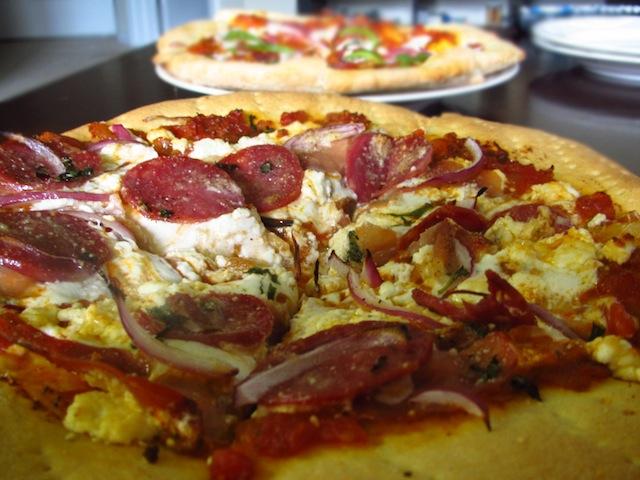 Homemade Pizza and Marinera Sauce