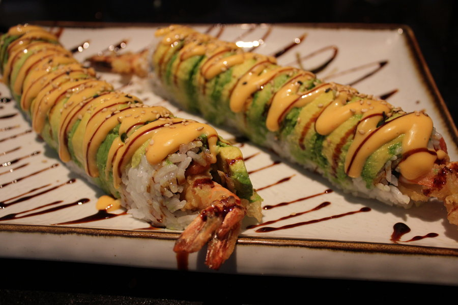 Caterpillar Sushi Roll