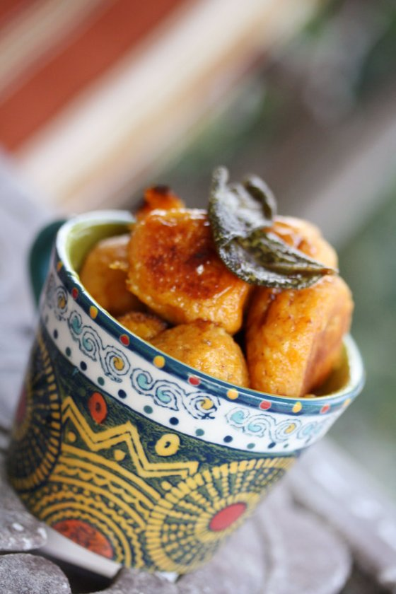 Sweet Potato Gnocchi with Sage and Brown Butter