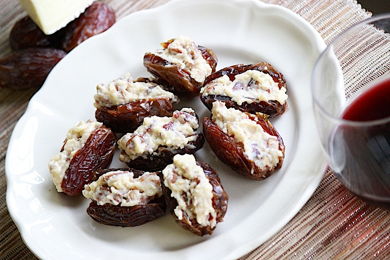 Brie-Stuffed Dates