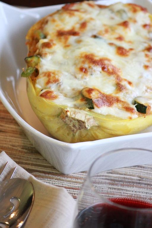 Spagetti Squash Bake