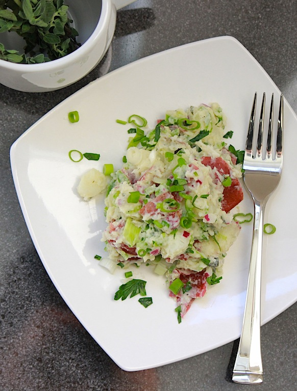 Baby Red Potato Salad | Edible Ventures