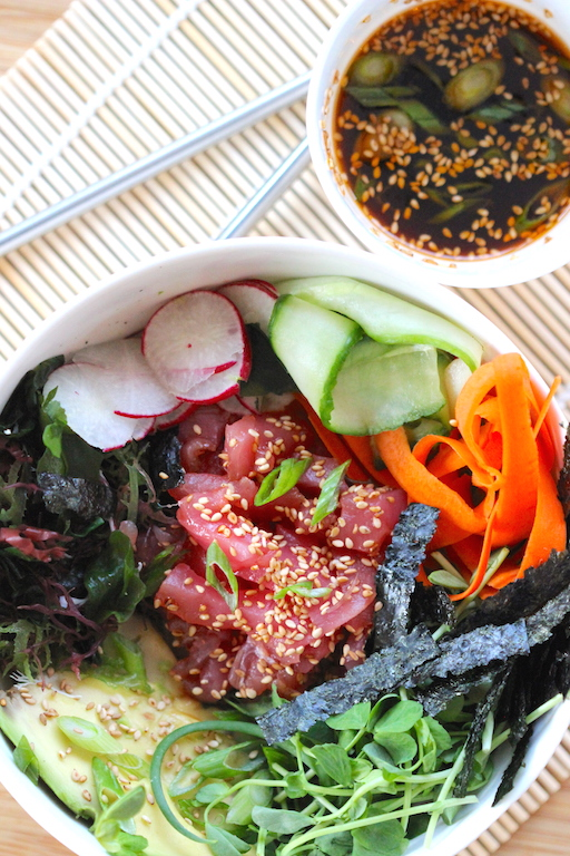 The Deconstructed Sushi Bowl | Edible Ventures